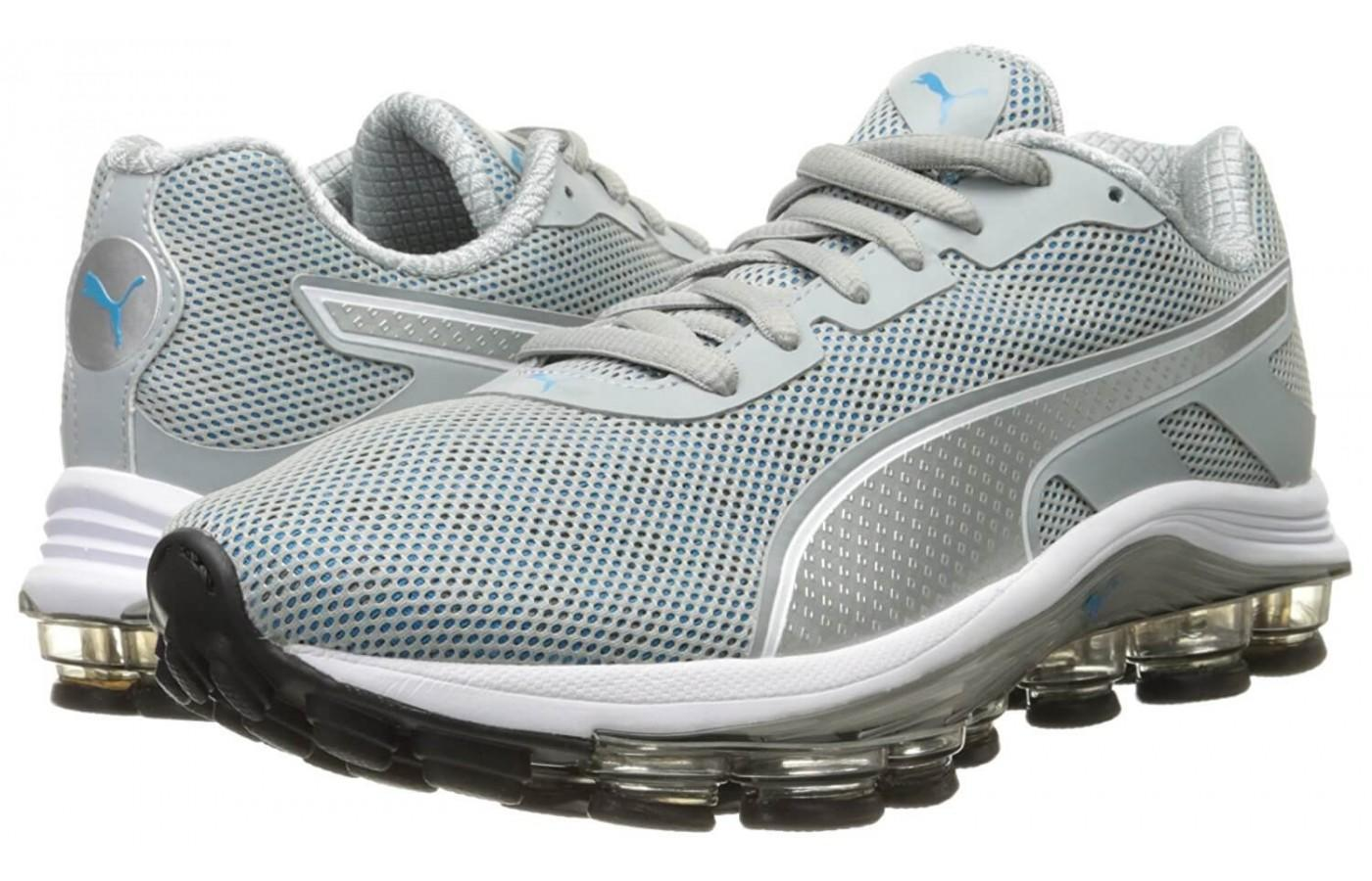a pair of Puma Voltage trainers