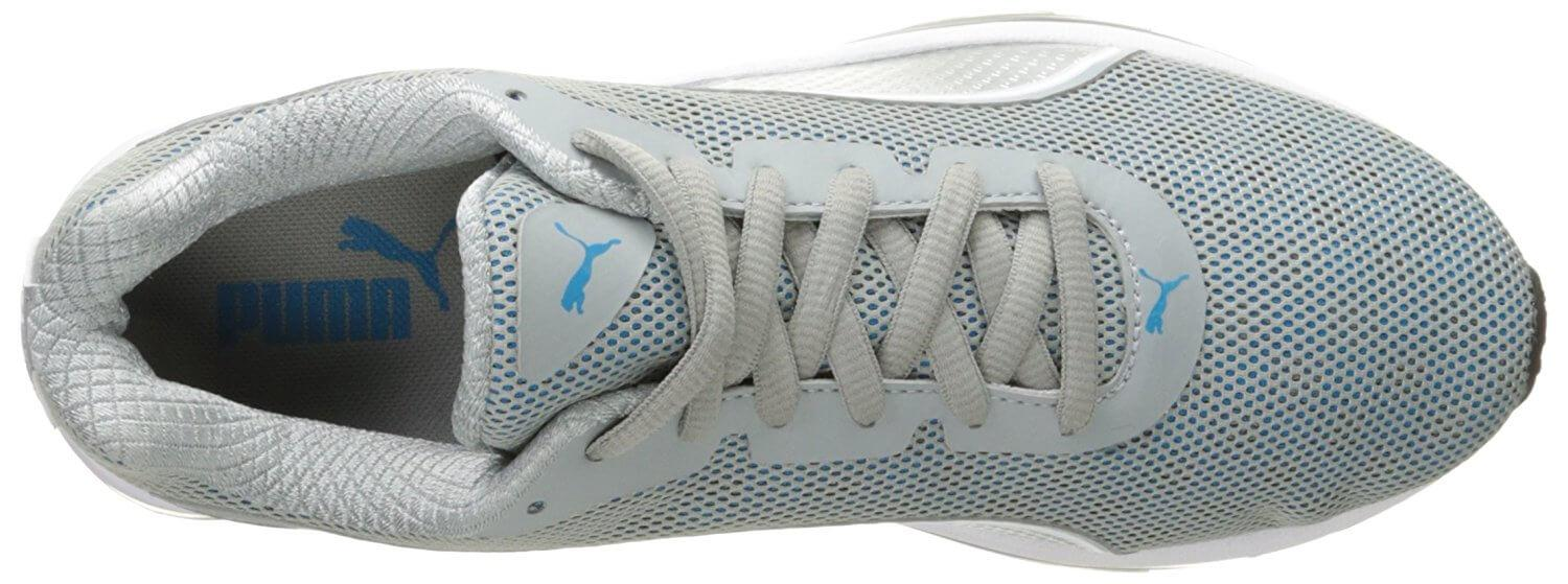 the top of the Puma Voltage