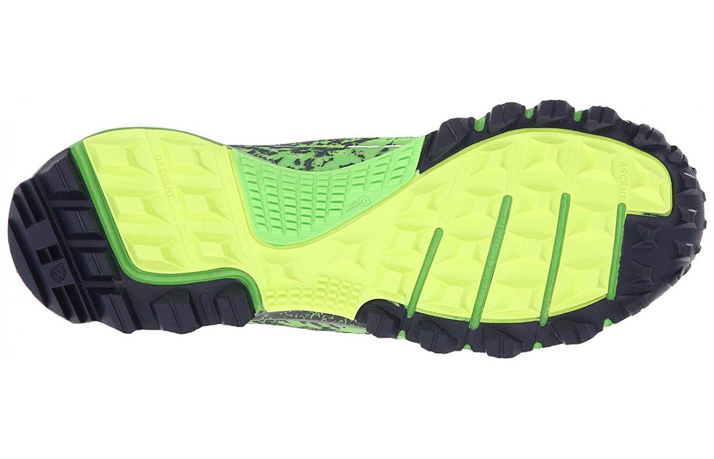 Reebok All Terrain Thrill has a thick and durable outsole
