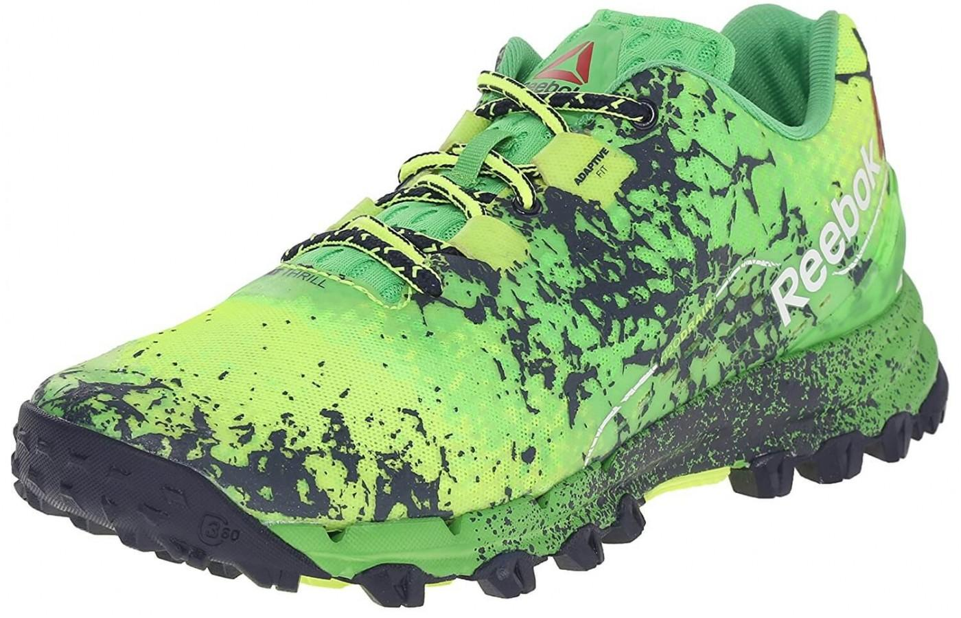 Reebok All Terrain Thrill has a distinct look