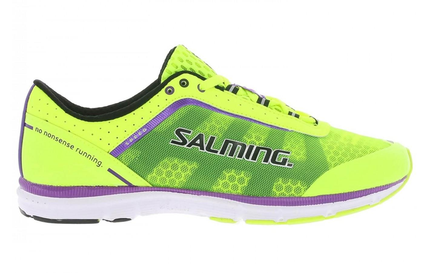 a good look at the side of the Salming Speed