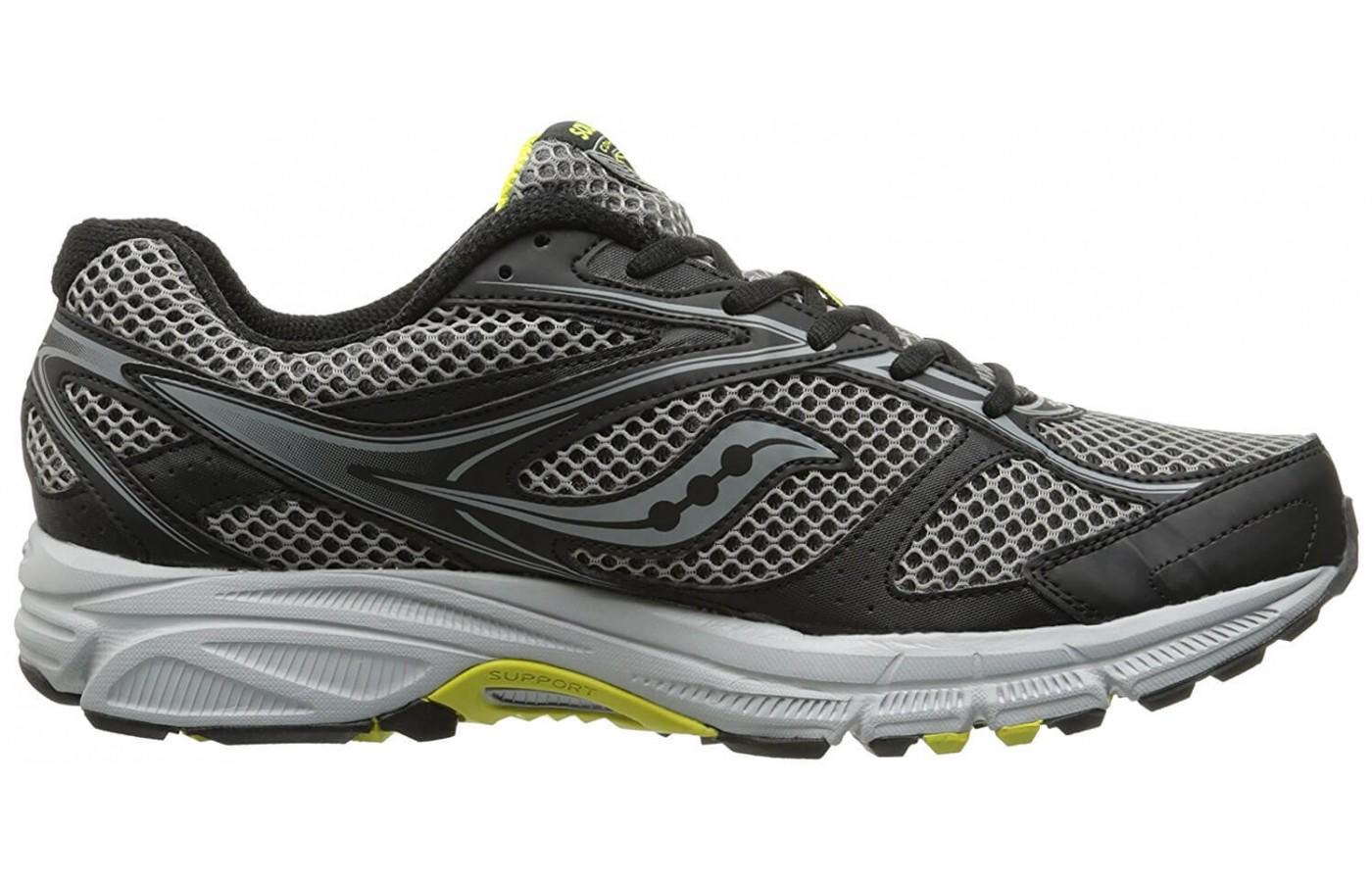 a good look at the side of the Saucony Cohesion TR 8