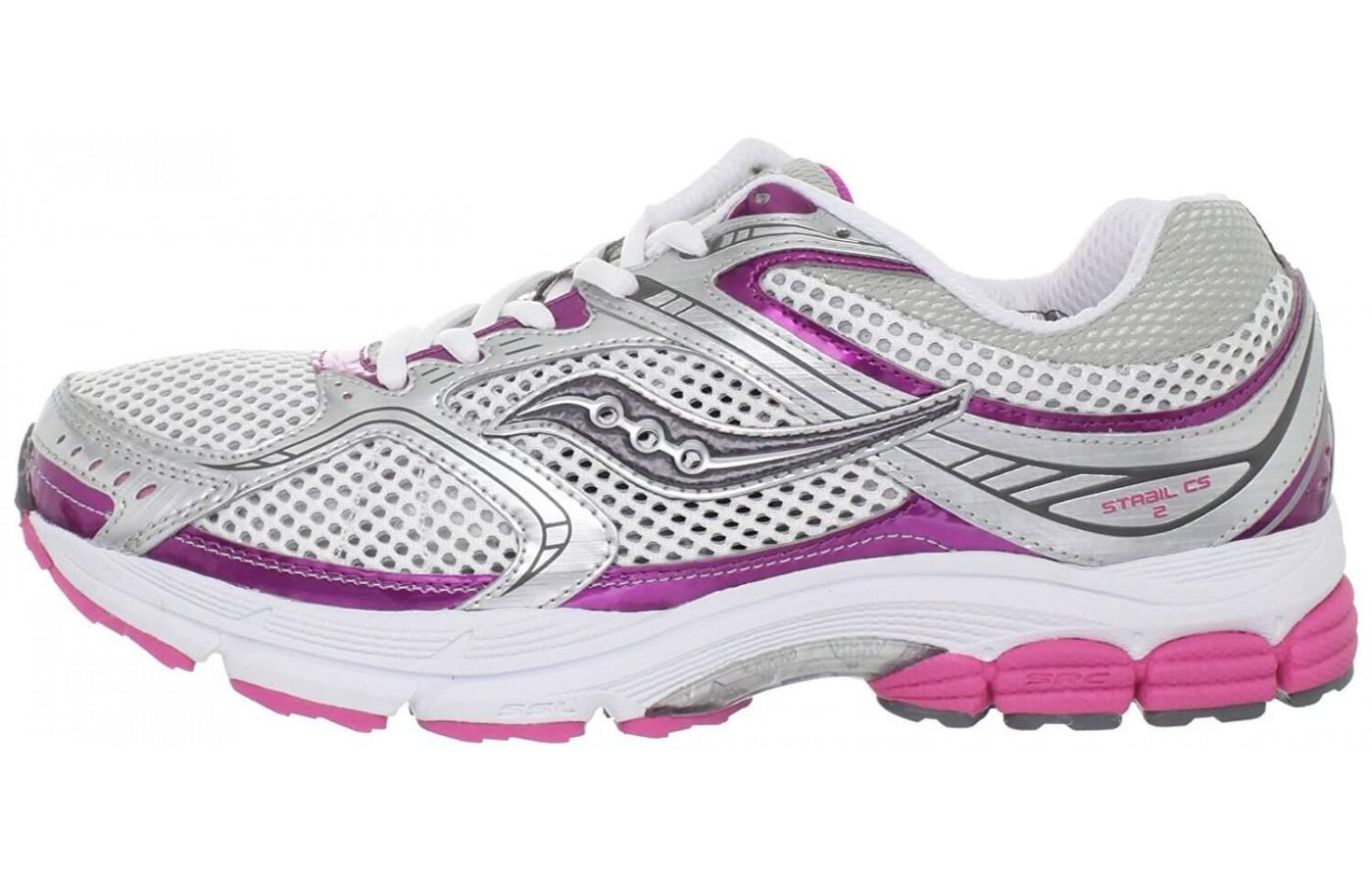 The style of the Saucony Stabil CS2 on display