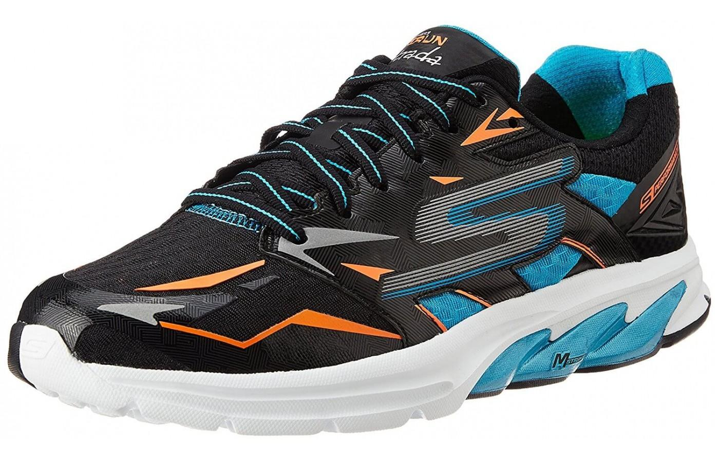 the Skechers GOrun Strada shown from the front/side