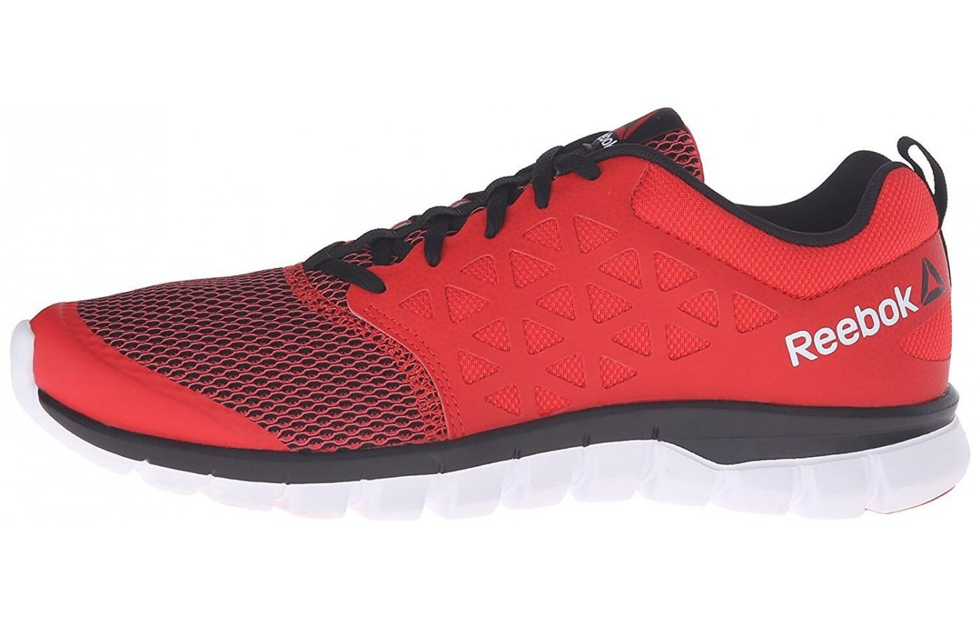 the Reebok Sublite XT Cushion 2.0 is a low-cut running shoe