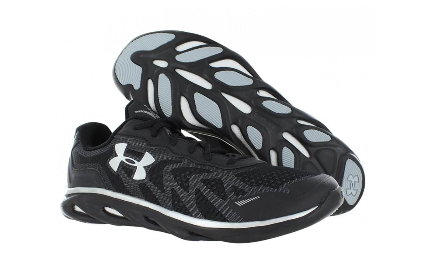 The solid rubber outsole of the Under Armour Spine Venom 2.