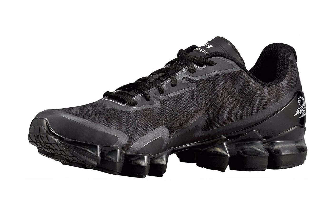 Black version of the Under Armour Scorpio 2