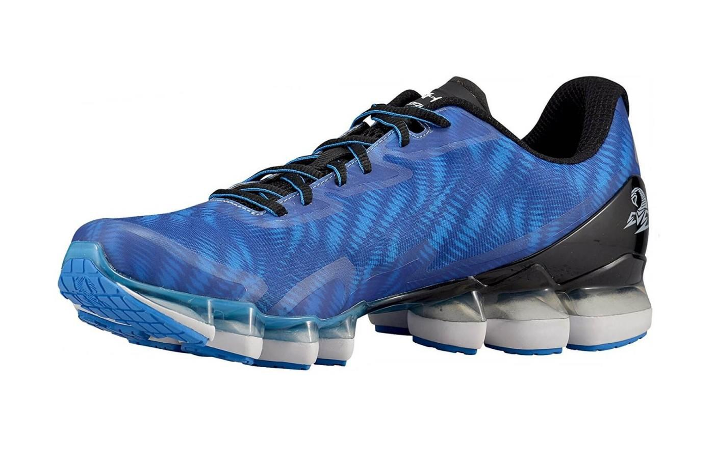 Blue version of the Under Armour Scorpio 2