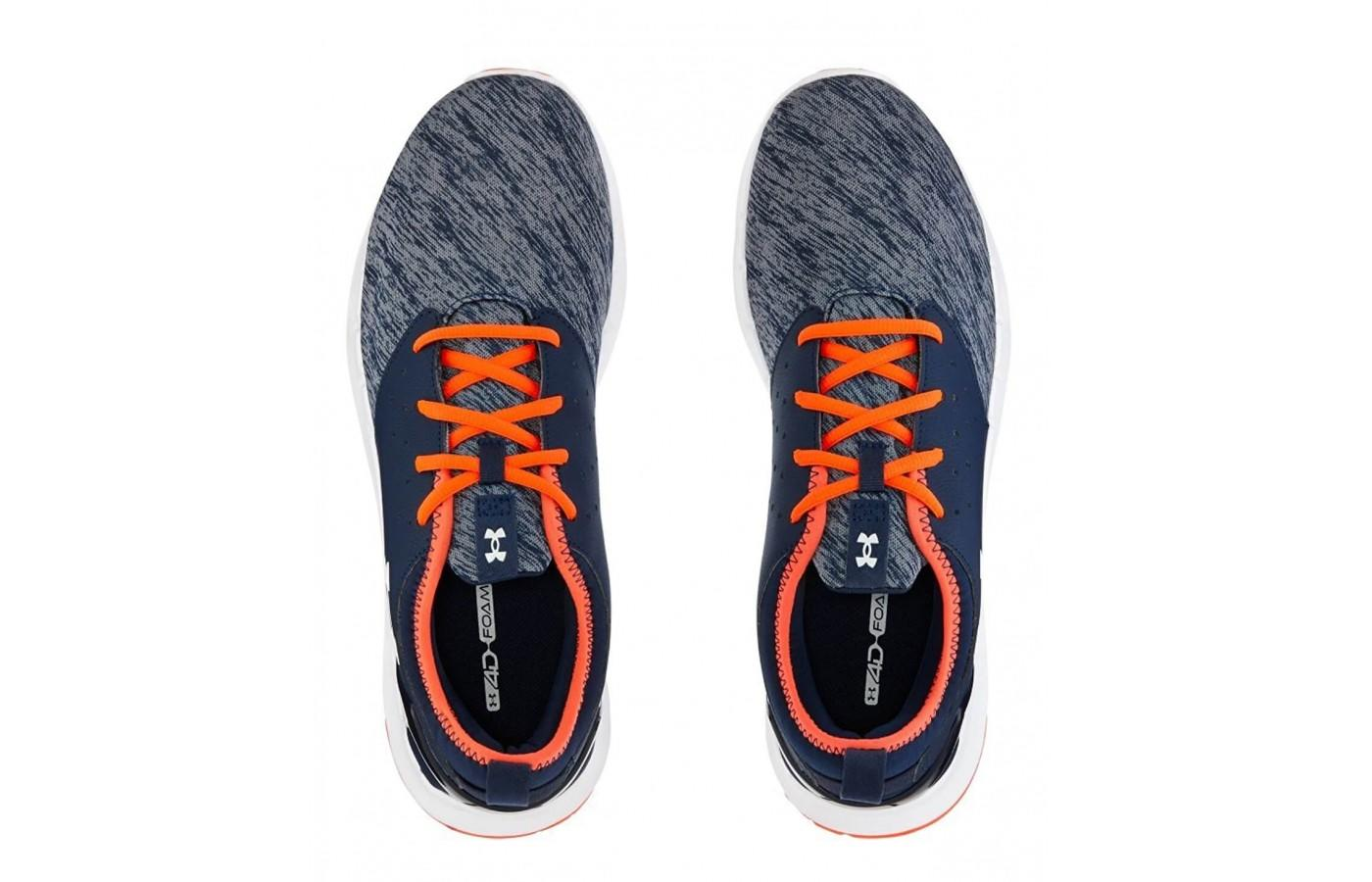 a pair of Under Armour Flow Twist trainers
