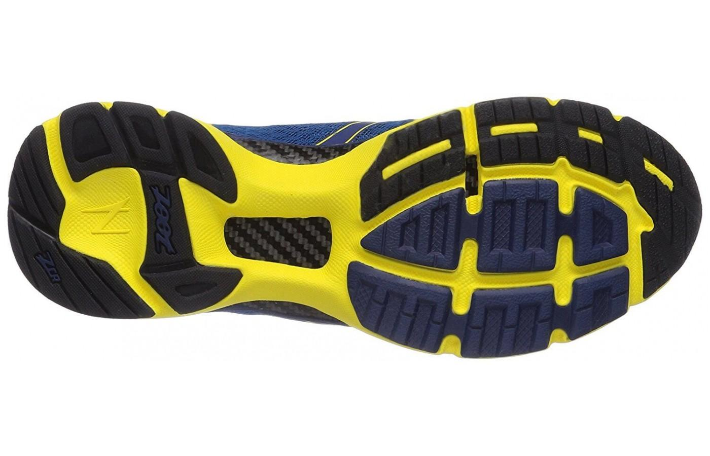 the outsole of the Zoot Carlsbad