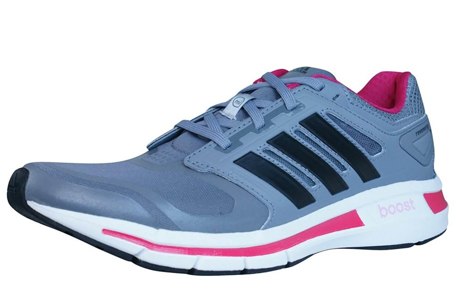 Womens  adidas  Revenergy Techfit Trainers Grey Running shoes B00UJMVMNI