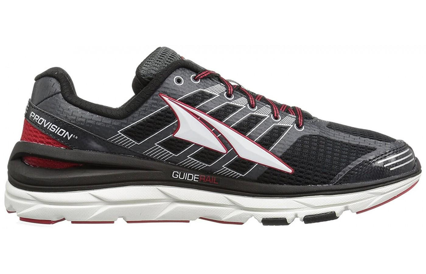 here's the profile of the Altra Provision 3.0
