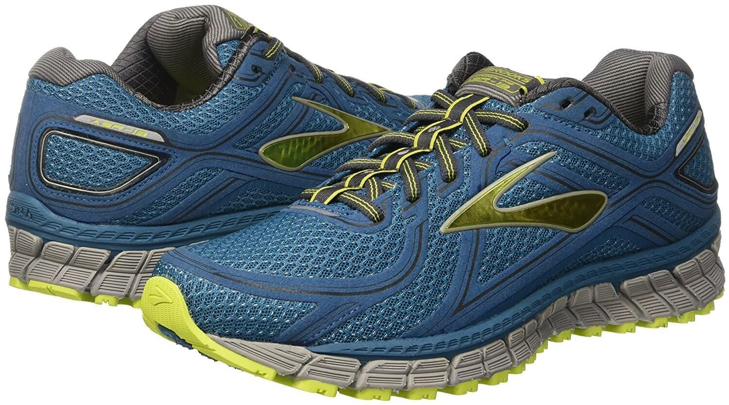 The Brooks Adrenaline ASR 13 is an attractive trail shoe