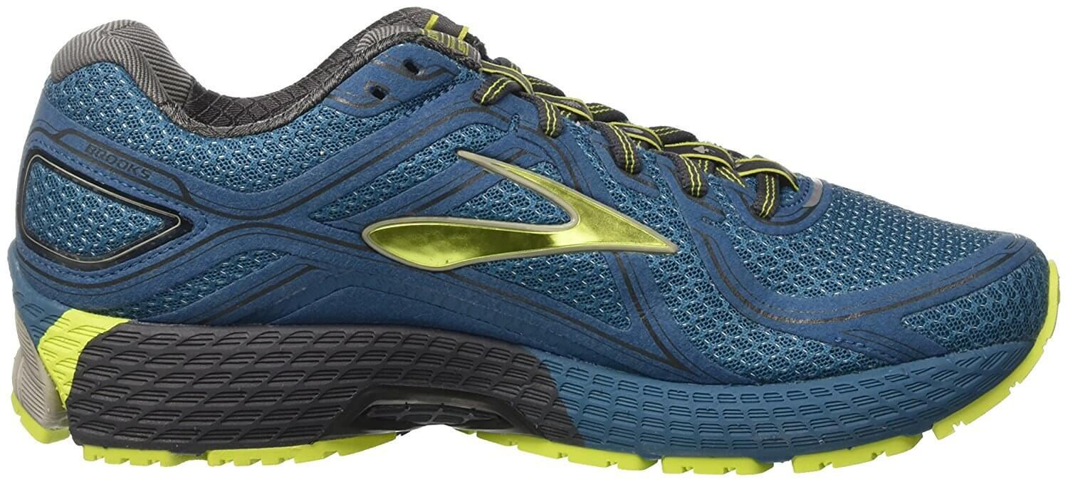 Brooks Adrenaline ASR 13 left to right view