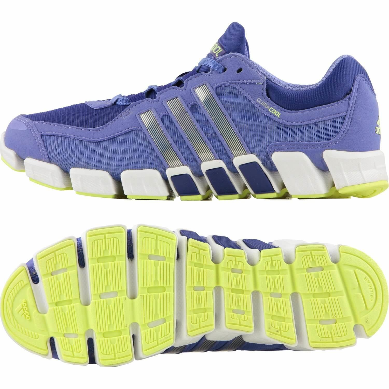 Bright and complimentary colors give the Adidas Climacool Freshride a stylish appearance