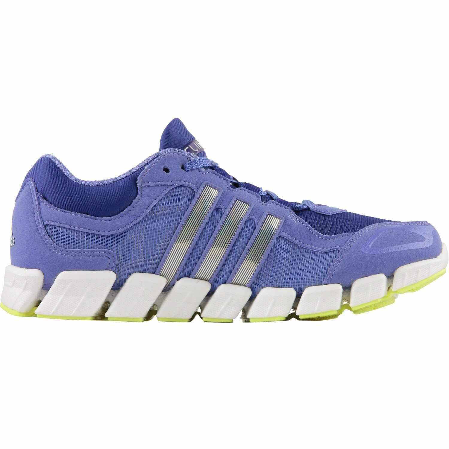 A cushioned and flexible midsole promote a natural stride while wearing the Adidas Climacool Freshride