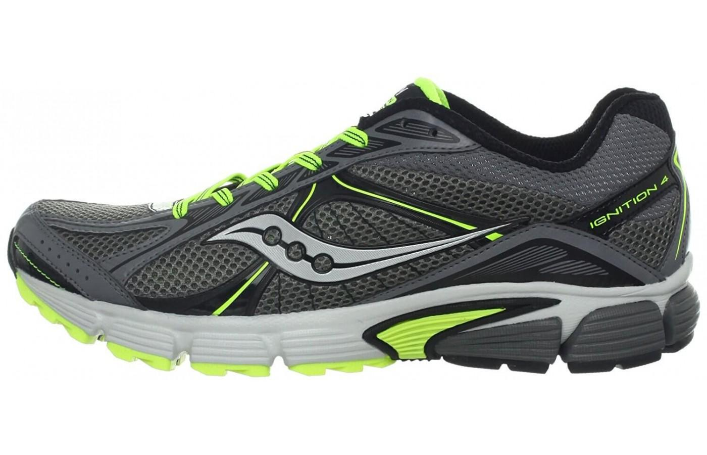 Saucony Ignition 4 had a durable rubber outsole that provides strong traction