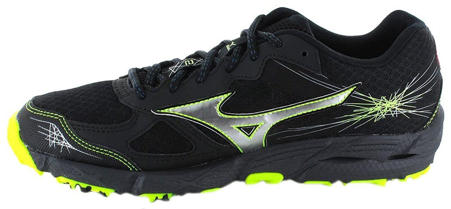Take a look at the side view of the Mizuno Wave Kien 2
