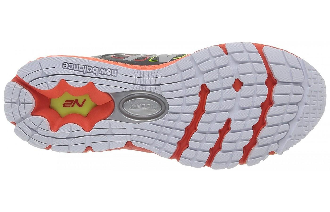 New Balance 1260v4 flexible outsole