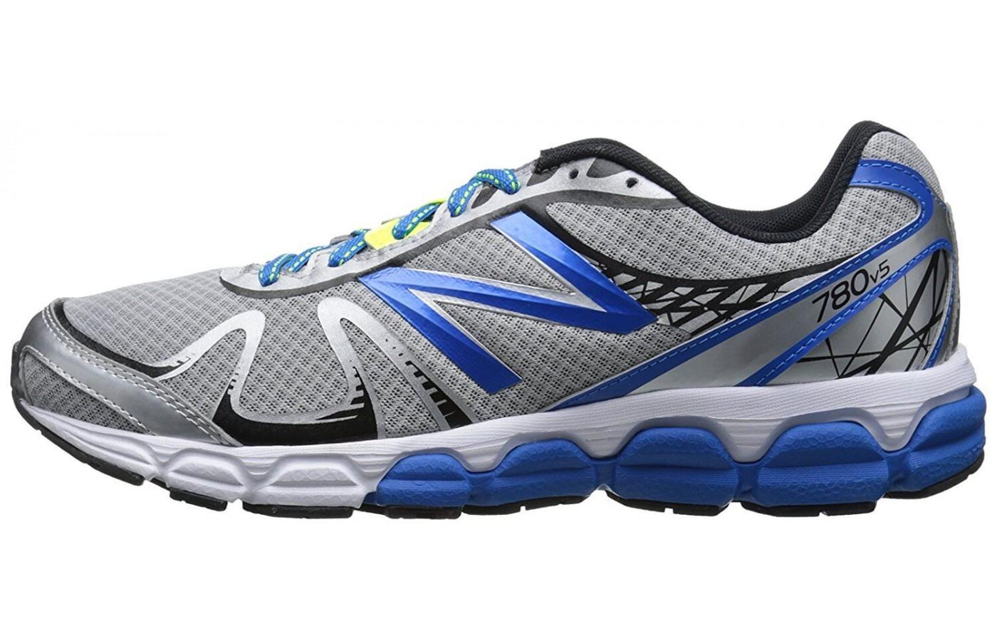 the New Balance 780 v5 is lightweight with good cushioning