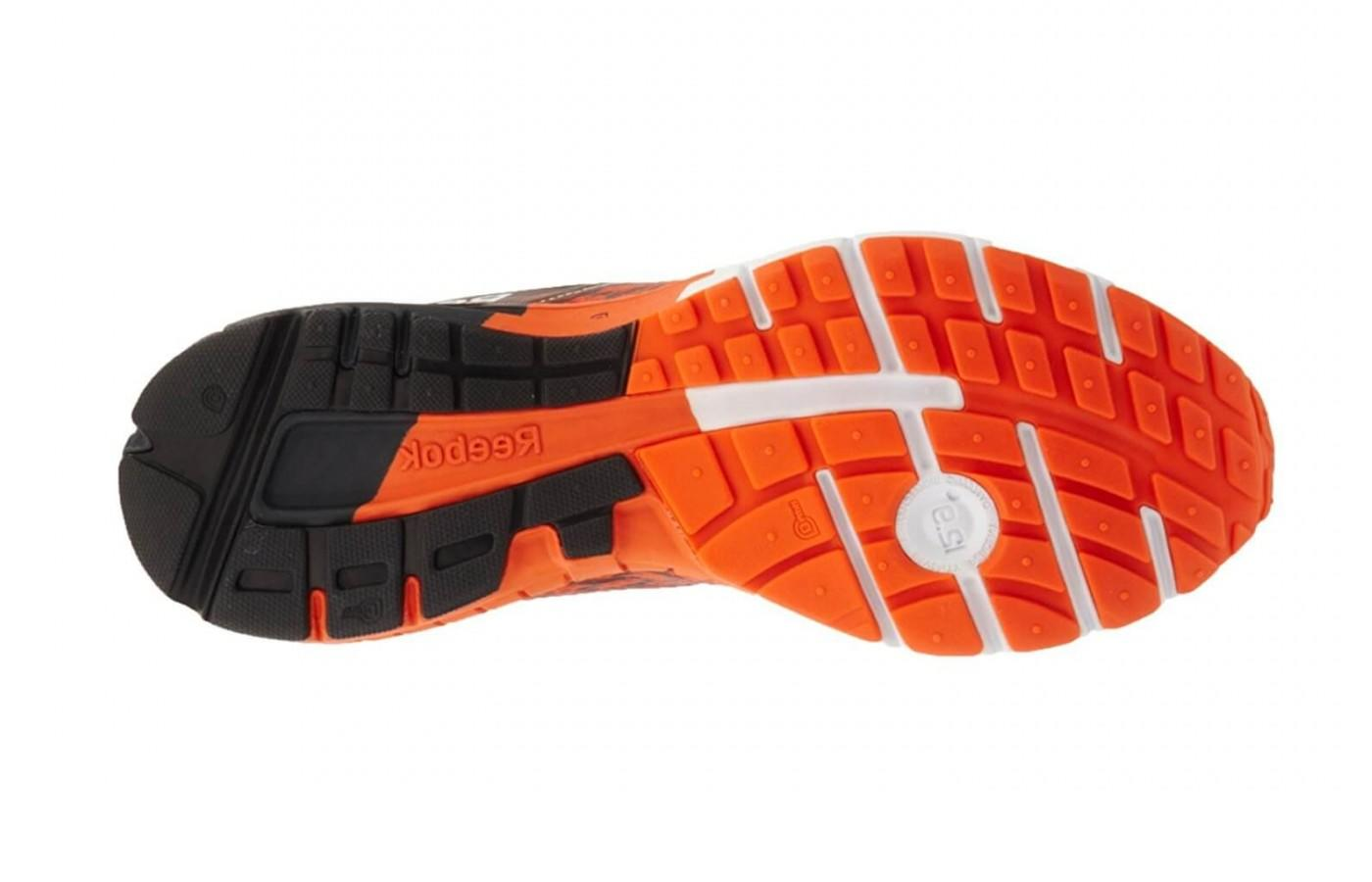 The outsole of the Reebok One Guide 2.0