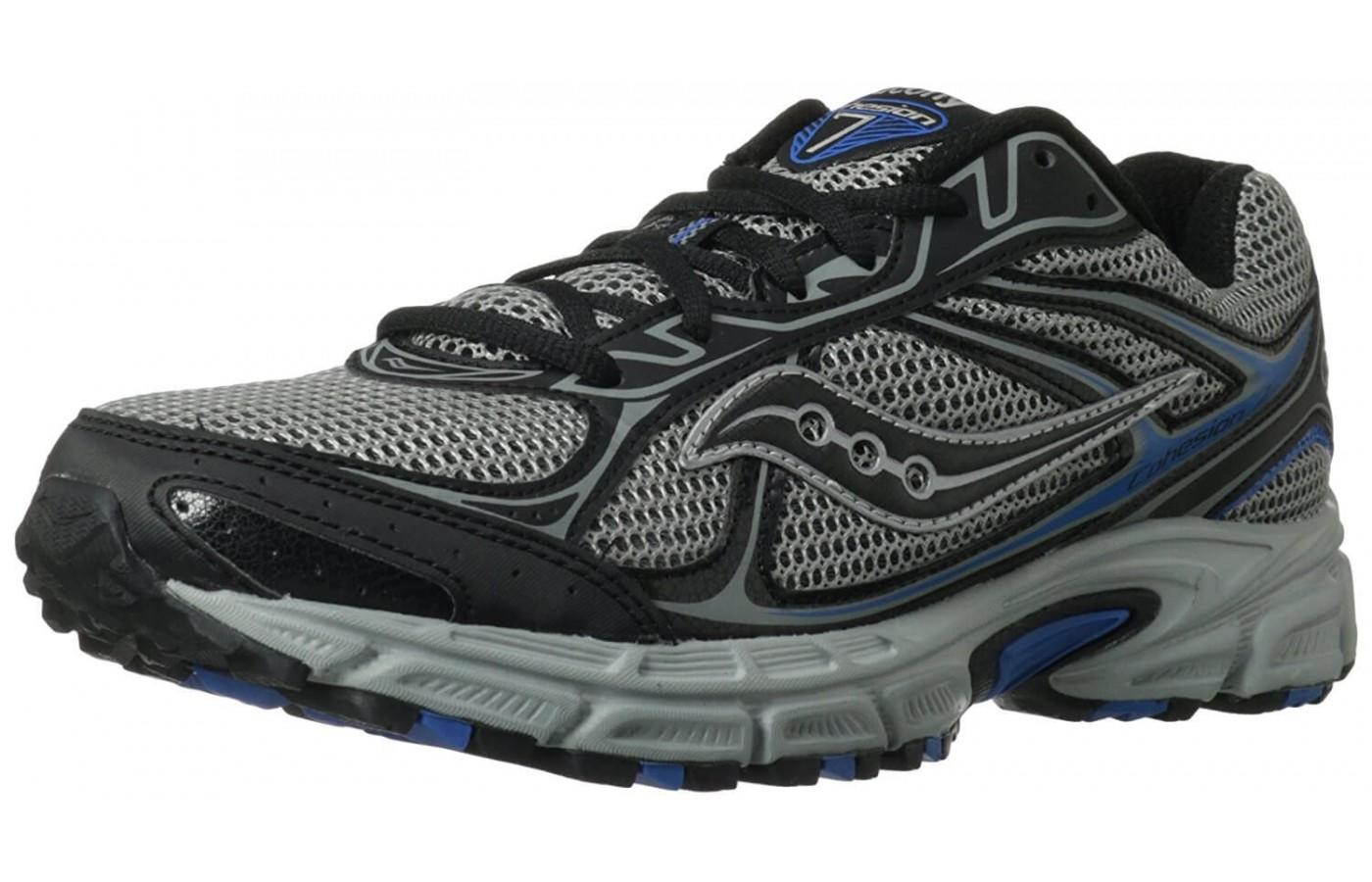 The classic look of the men's Saucony Cohesion TR7