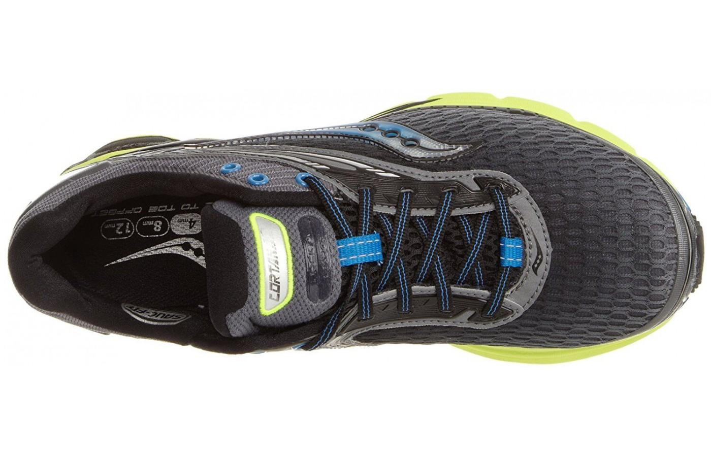 Saucony Cortana 2 has a breathable, comfortable upper