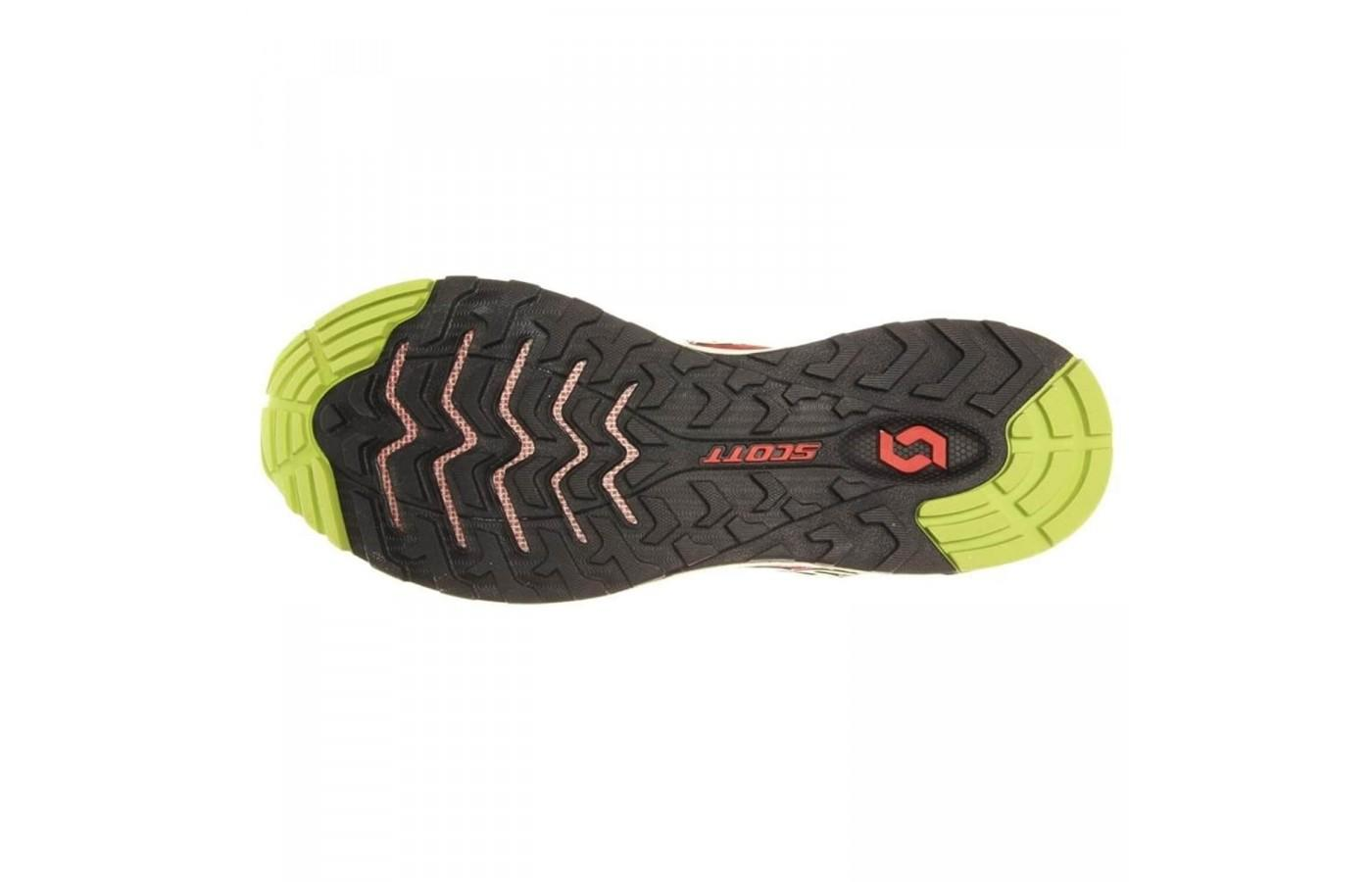 Protective and gripping sole of the Scott T2 Kinabalu 2.0