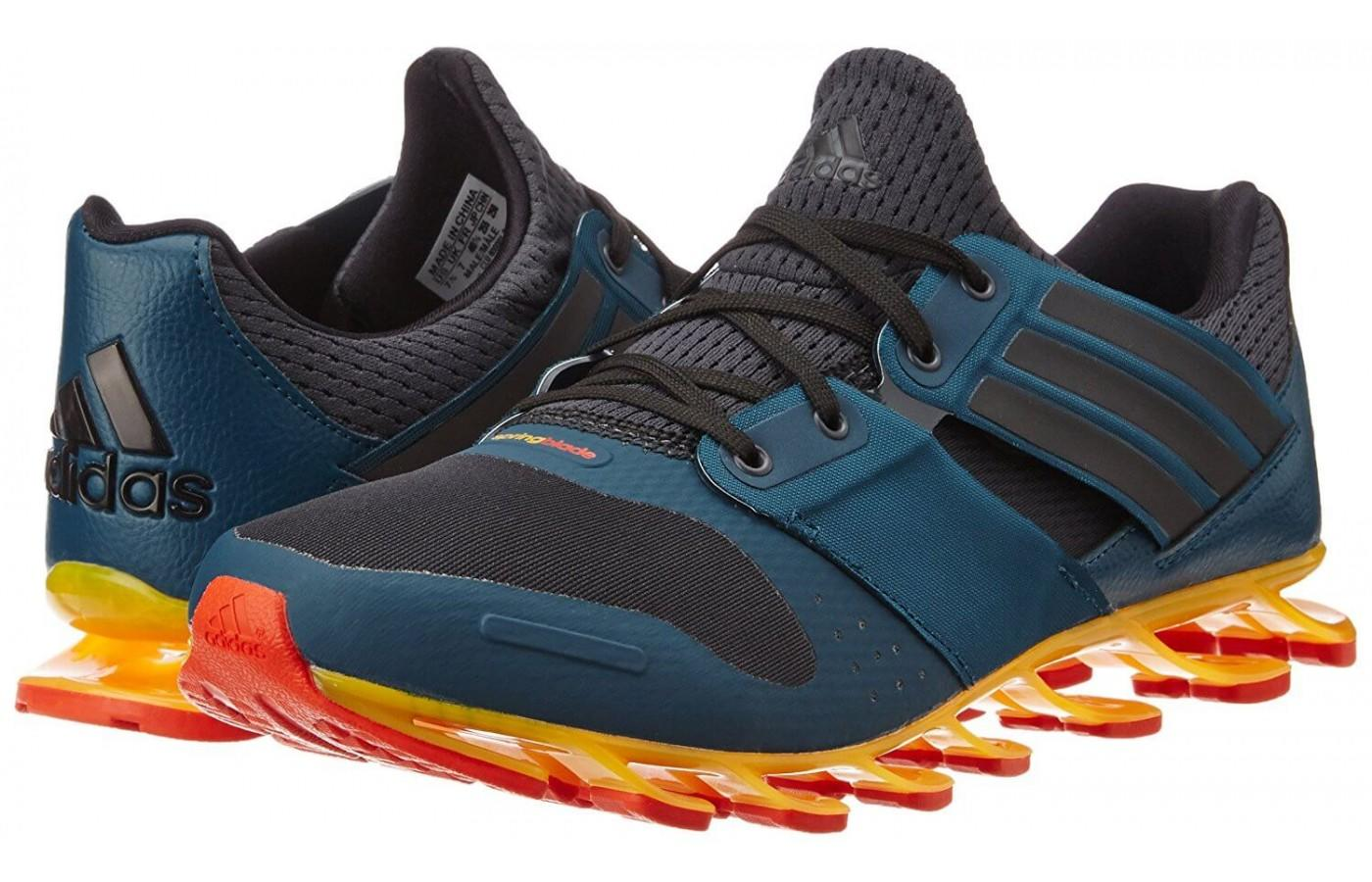 Springblade Solyce Hommes Adidas Chaussures De Course De Maille ZHww8nSv5