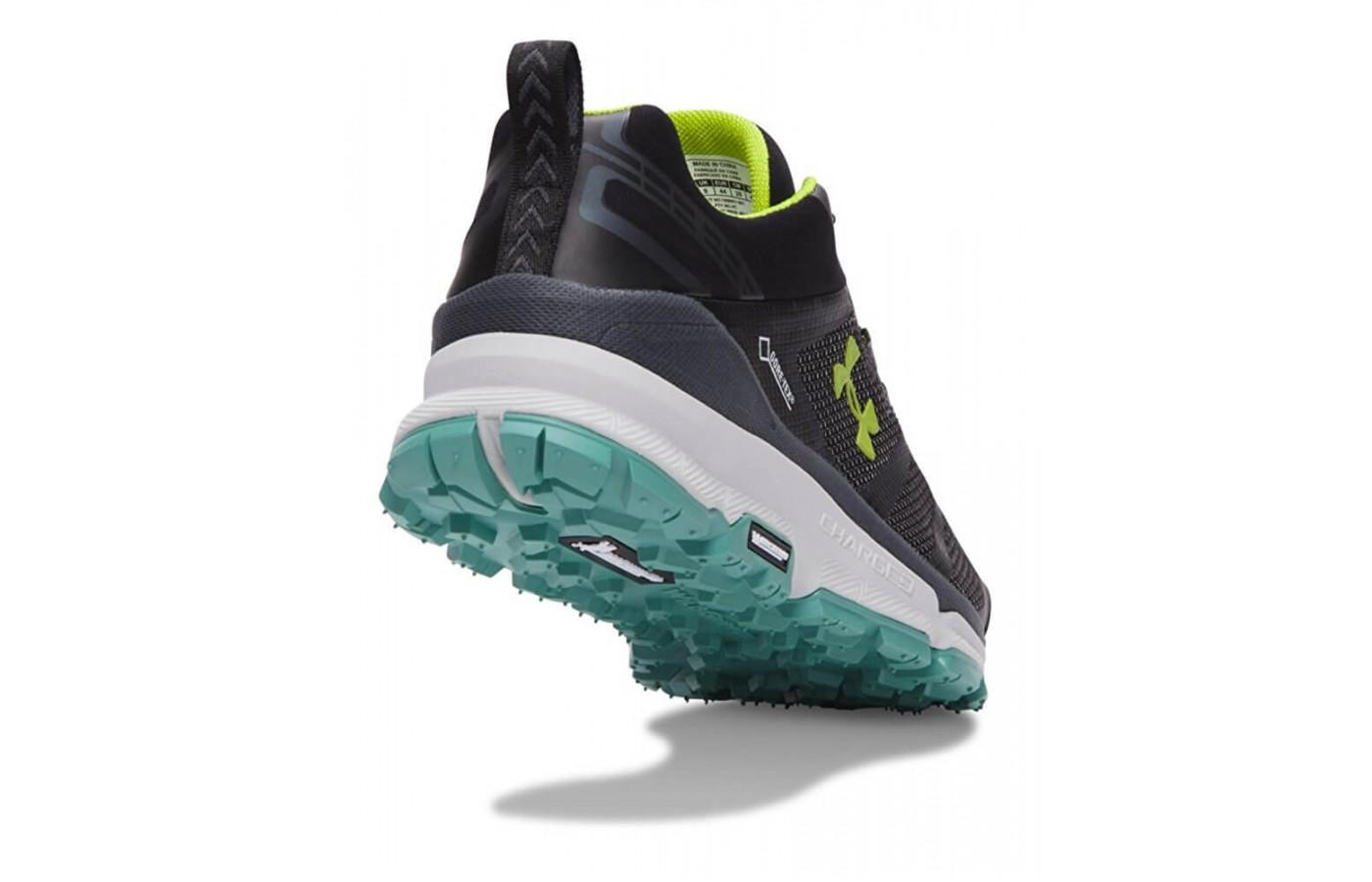 Under Armour Verge Low GTX heel and tread view