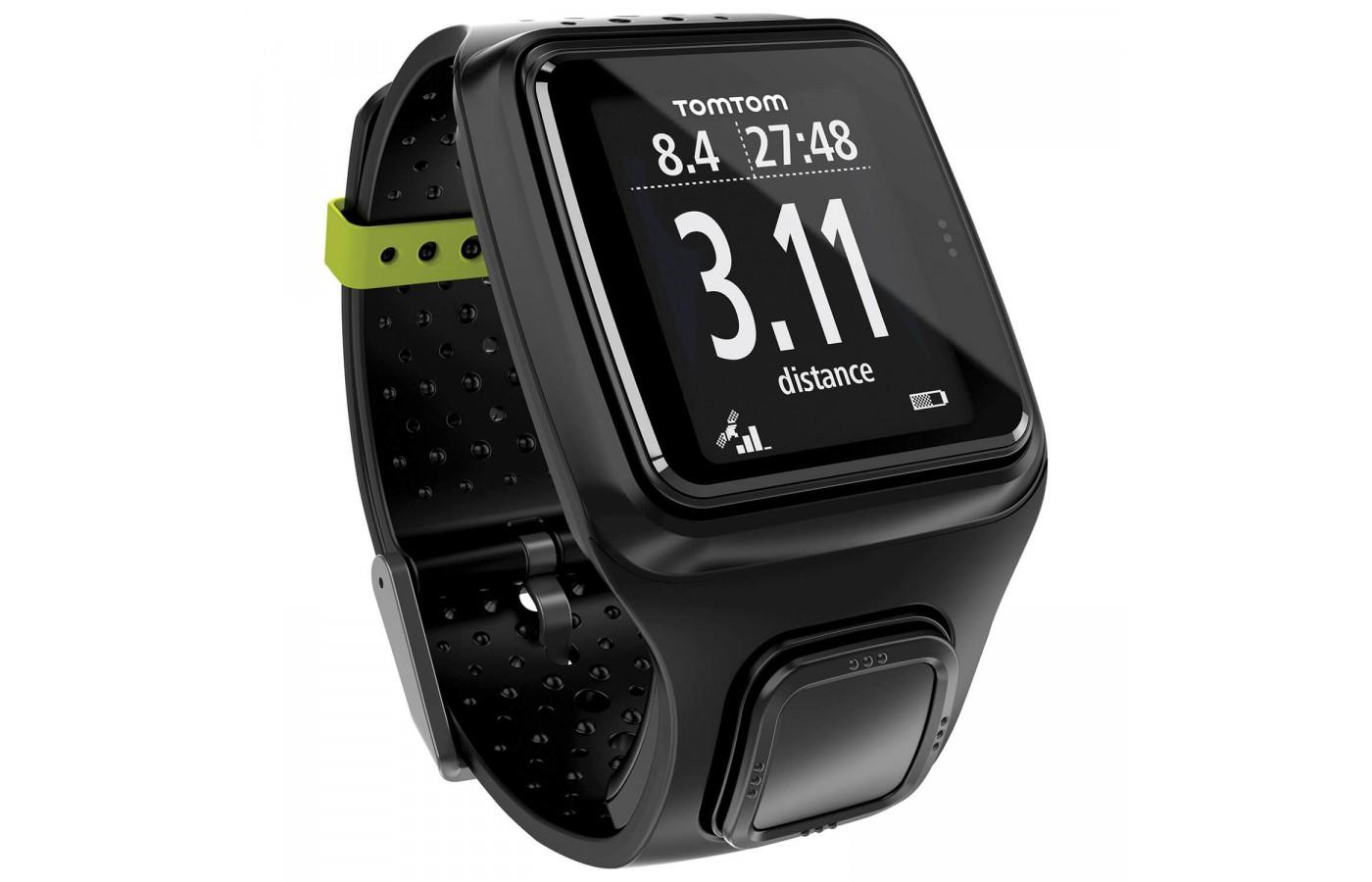 the TomTom runner comes in 3 different colors