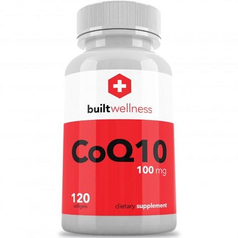 6. Built Wellness CoQ10 Supplement