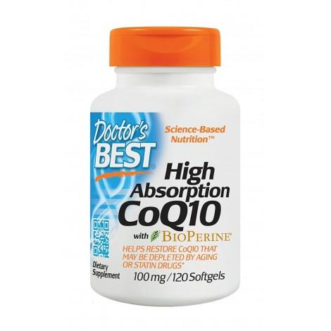 8.  Doctor's Best High Absorption CoQ10