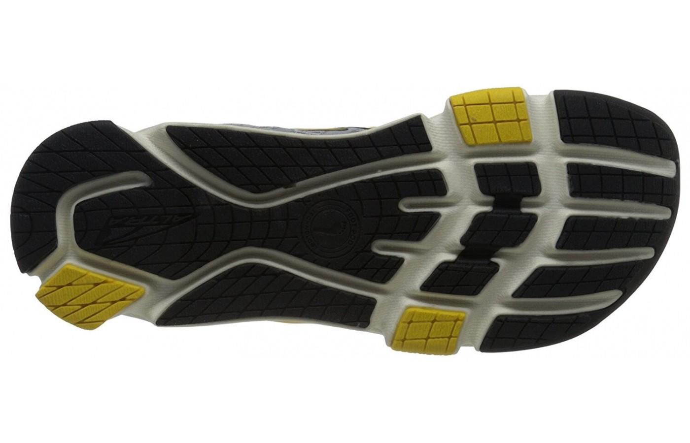 Altra Provision 2.5 has a thick and durable outsole