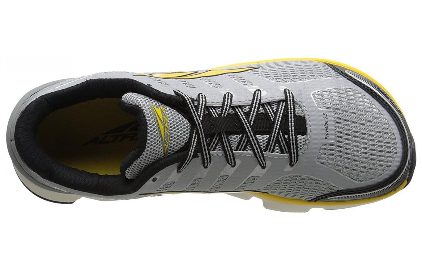 Altra Provision 2.5 has a breathable upper