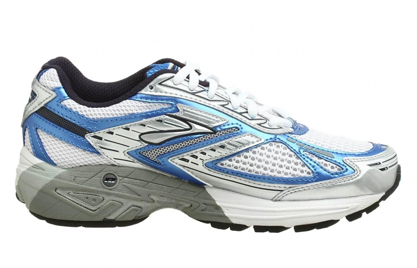 Brooks Adrenaline GTS 8 has a medial post to provide stability to wearers