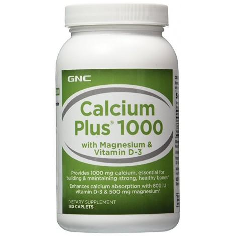 6. GNC Calcium Plus 1000 with Magnesium & Vitamin D