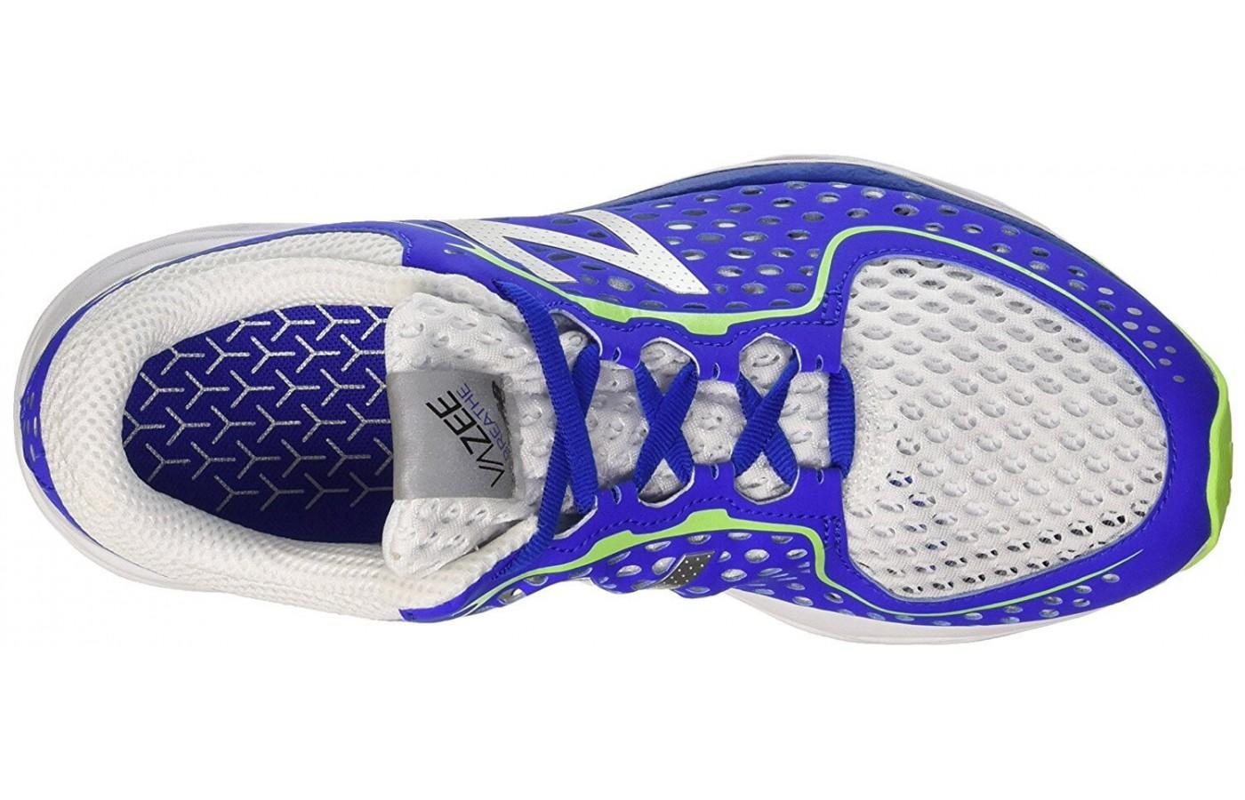 The breathable upper is a key feature of the New Balance Vazee Breathe.