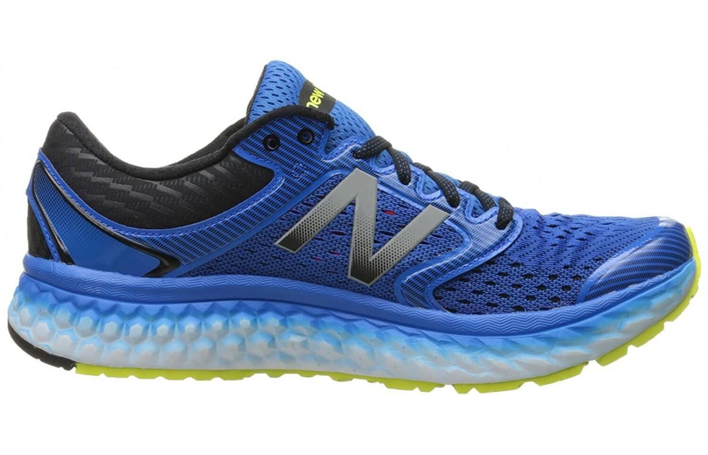 Interior side view of the New Balance Fresh Foam 1080 v7
