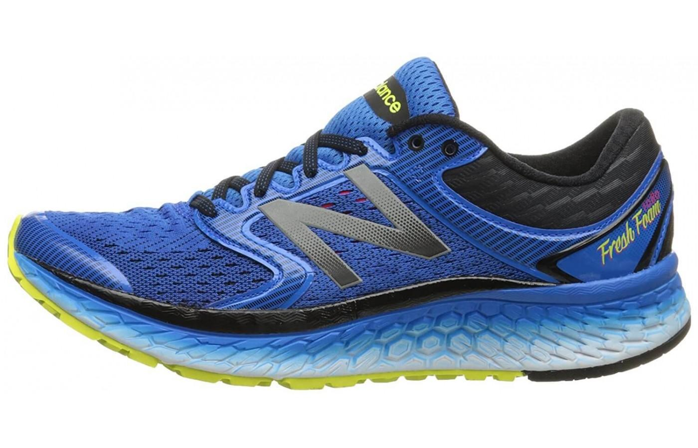 Exterior side view of the New Balance Fresh Foam 1080 v7