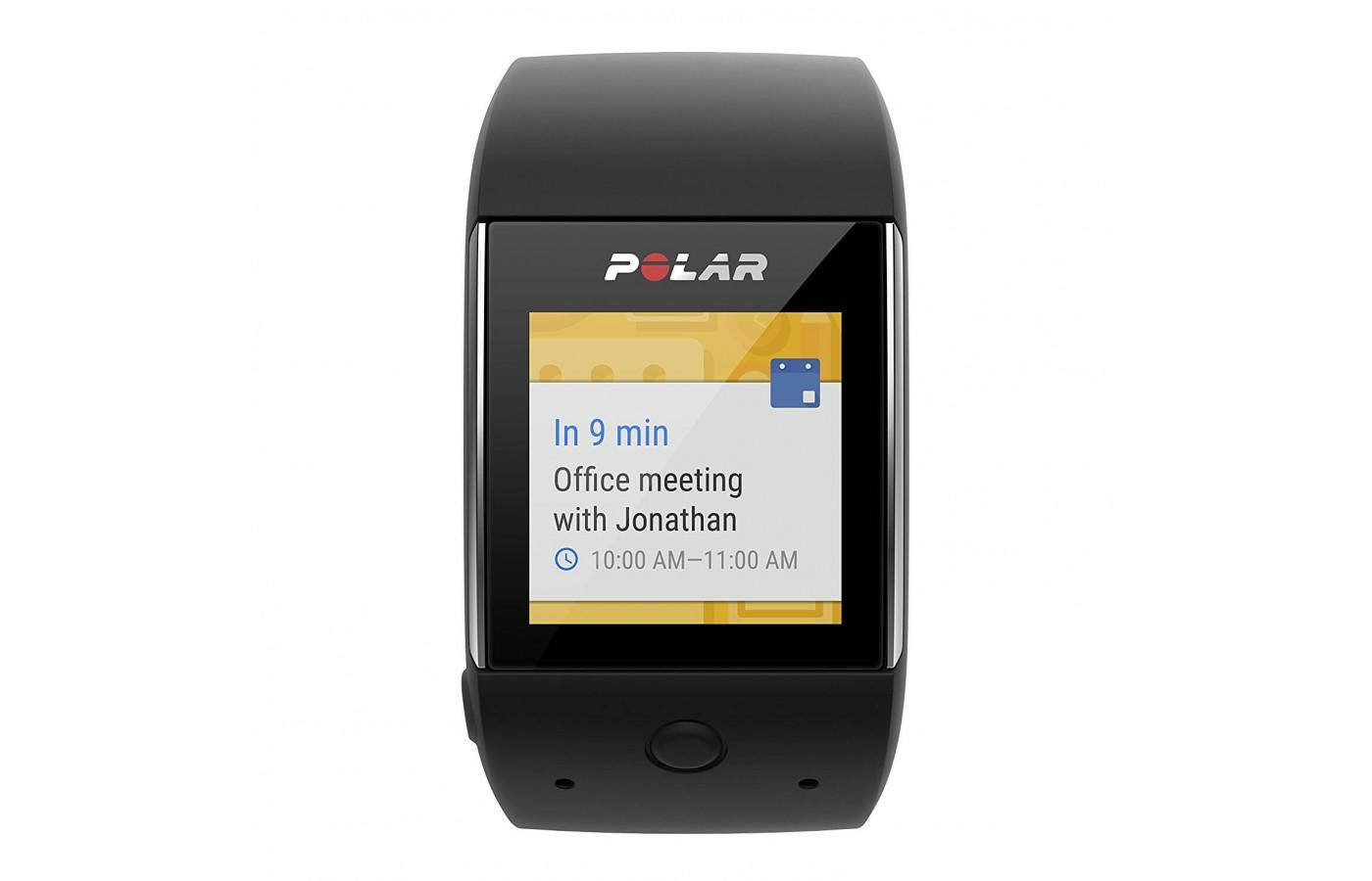 the Polar M600 can be used as both a smartwatch and a fitness tracker