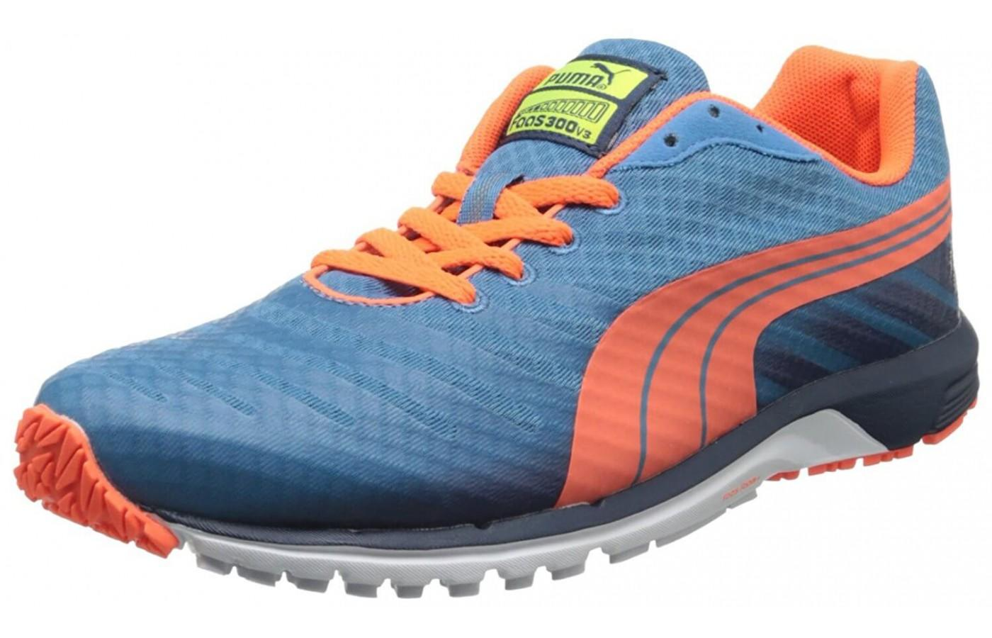 Check out the Vibrant colors featured on the Puma Fans 300 v3