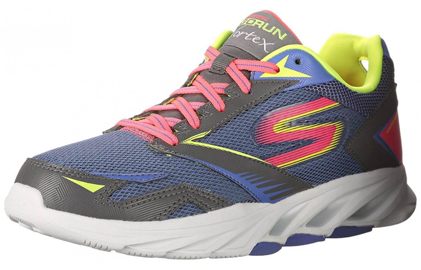 Skechers GoRun Vortex comes in a cool 80s-style color option