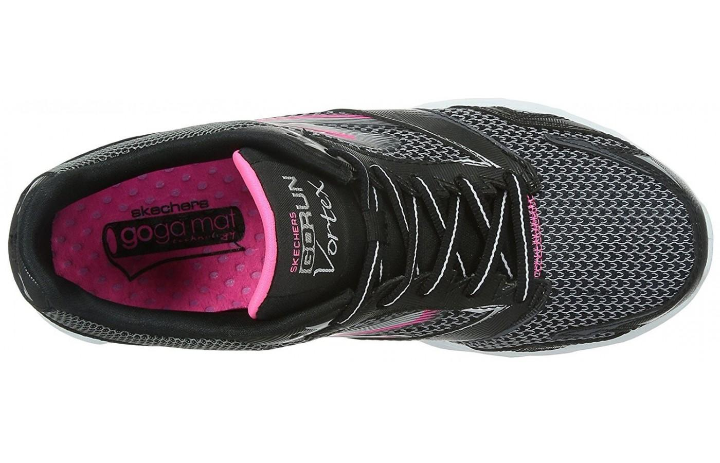 Traditional laces come with the Skechers GoRun Vortex