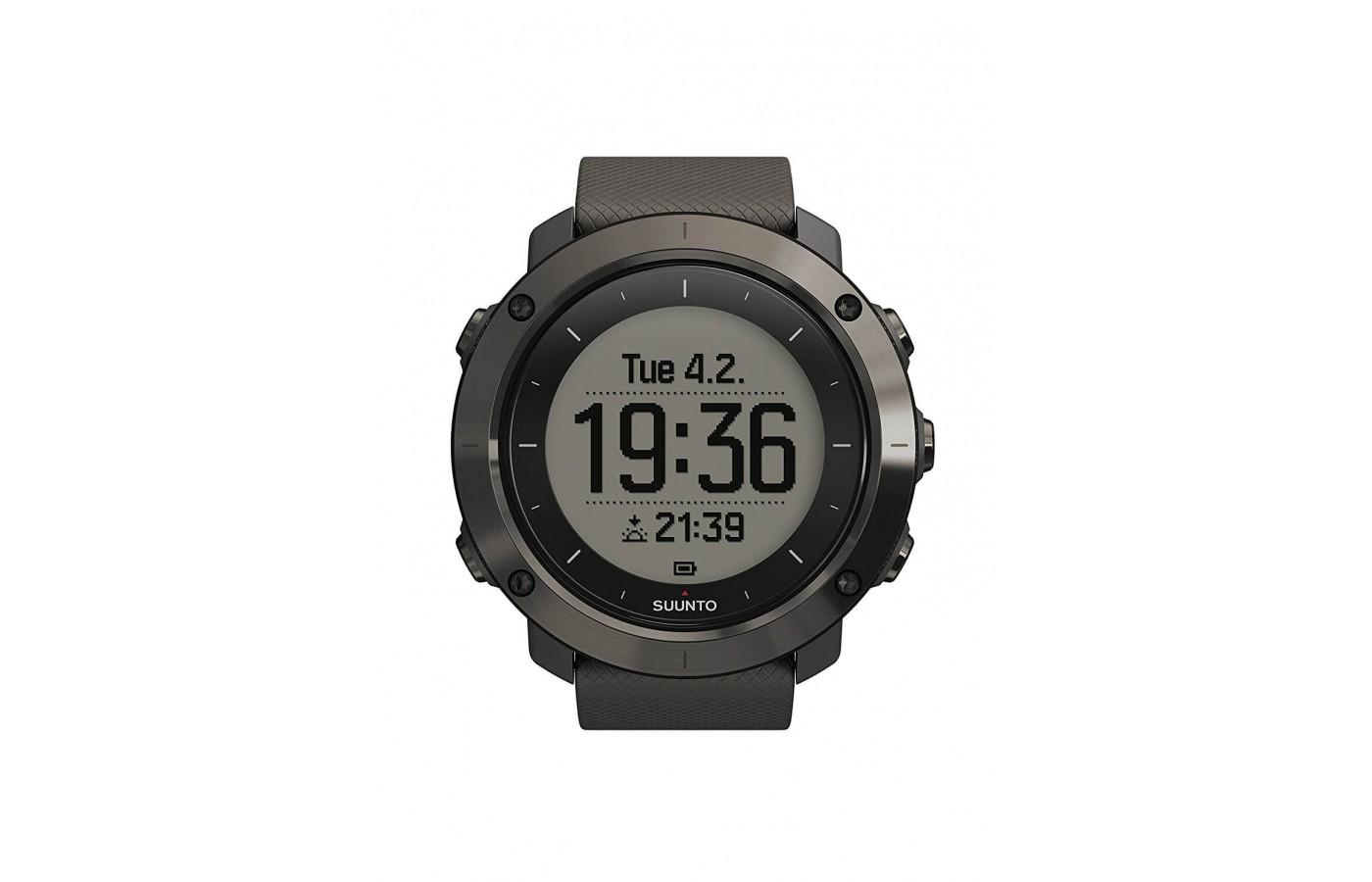 Suunto Traverse has a sleek design