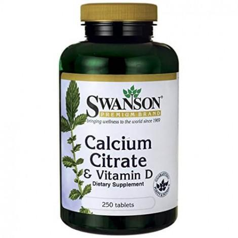 8. Swanson Calcium Citrate and Vitamin D