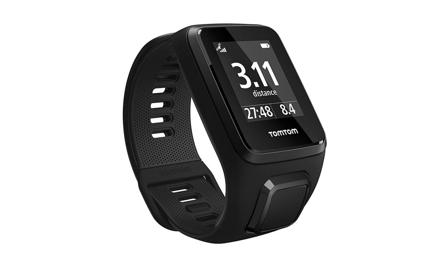 TomTom Spark 3 distance and time tracking