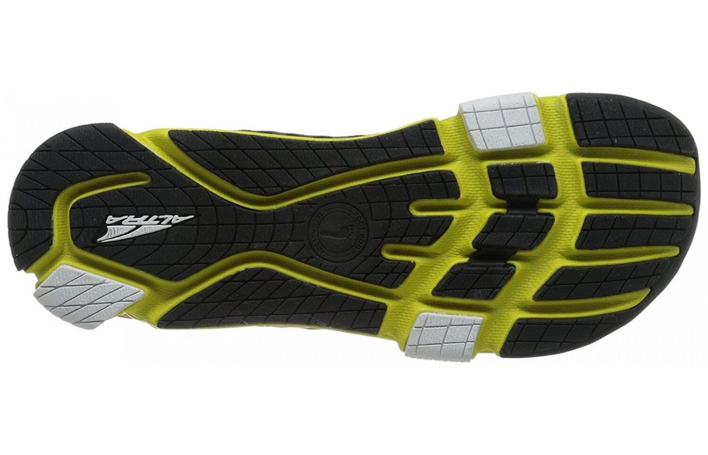 the outsole of the Altra Provision 2