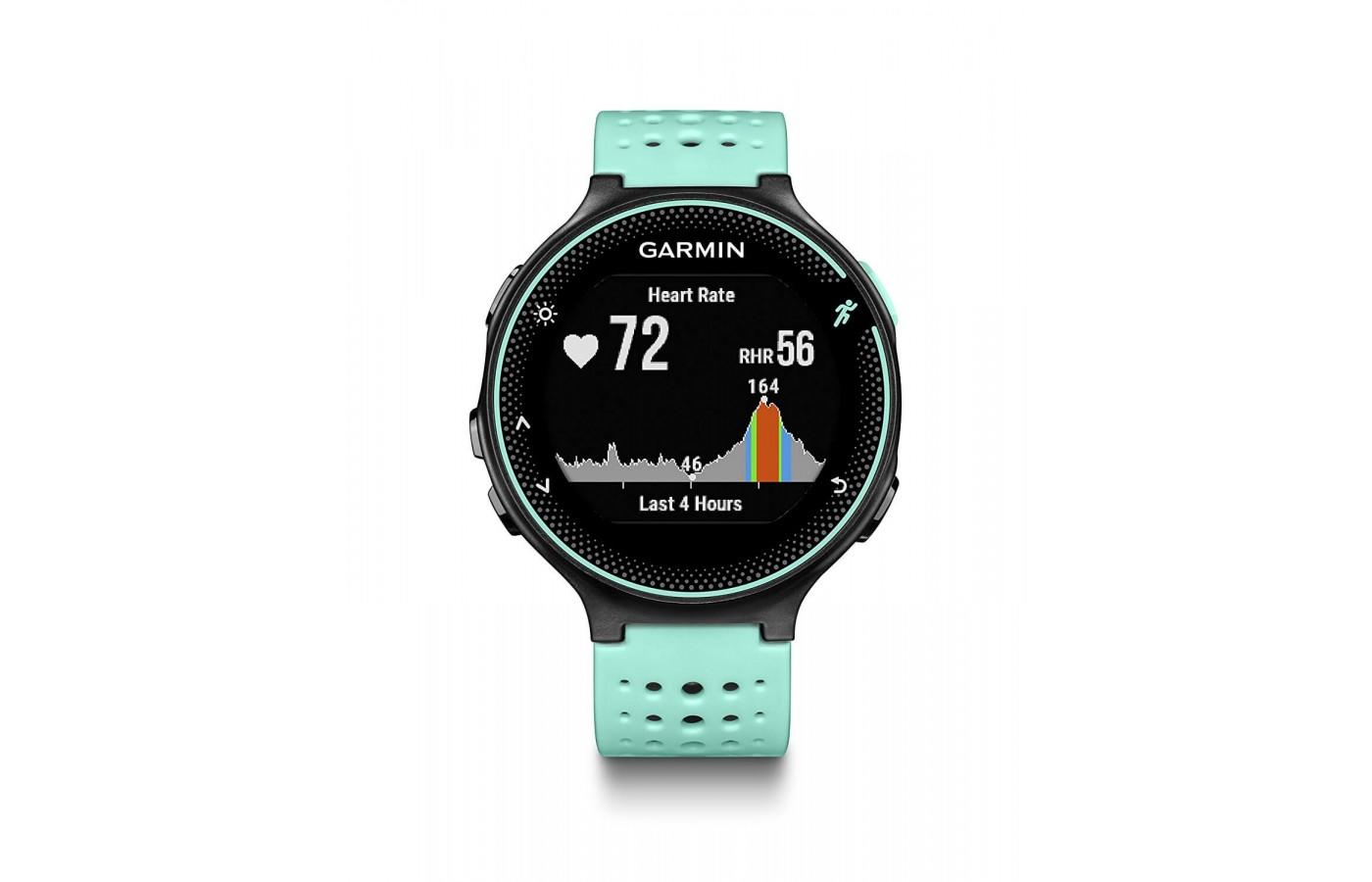 Garmin Forerunner 235 heart rate monitoring