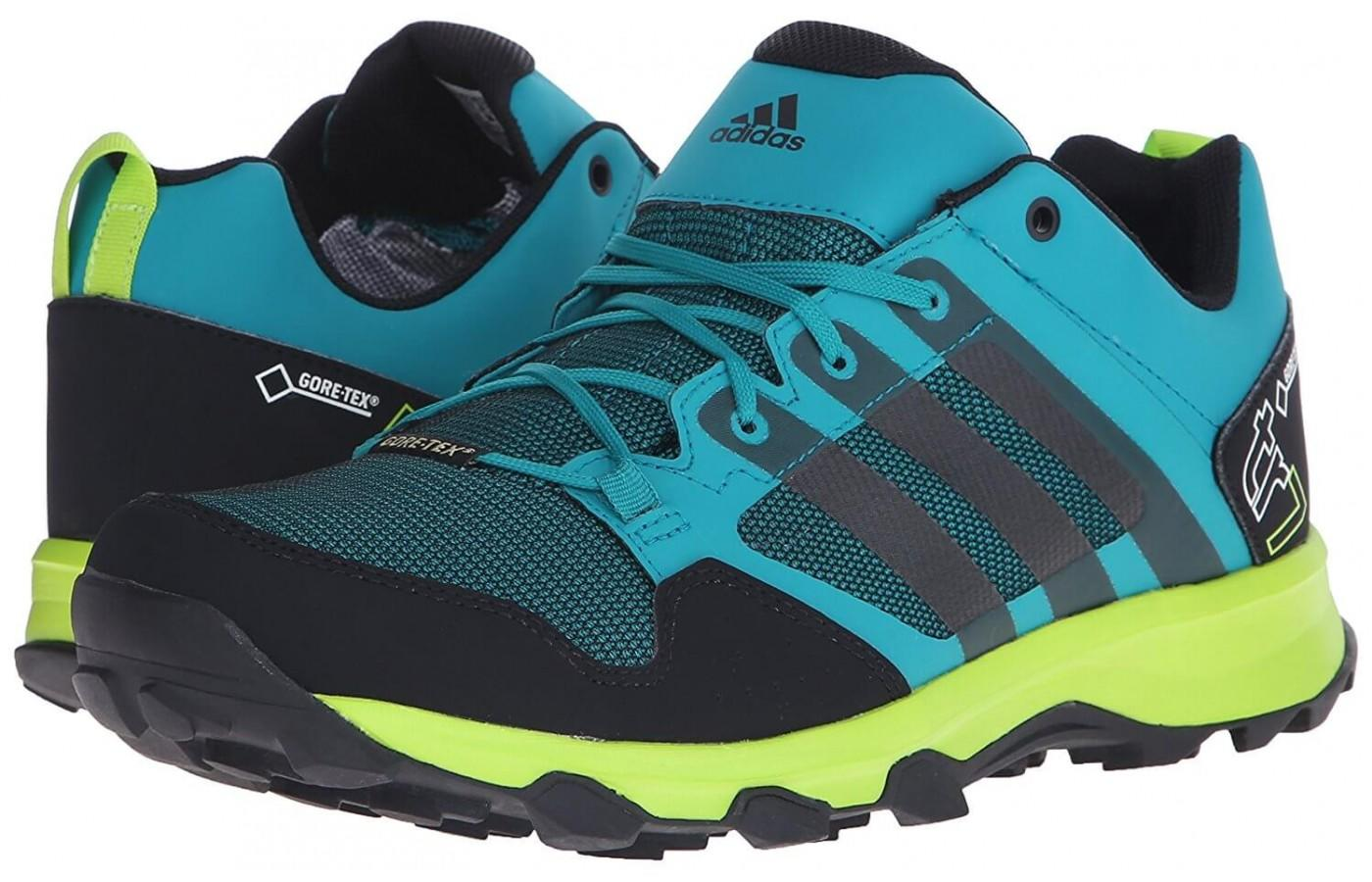 Gore-Tex technology keeps the foot dry and comfortable